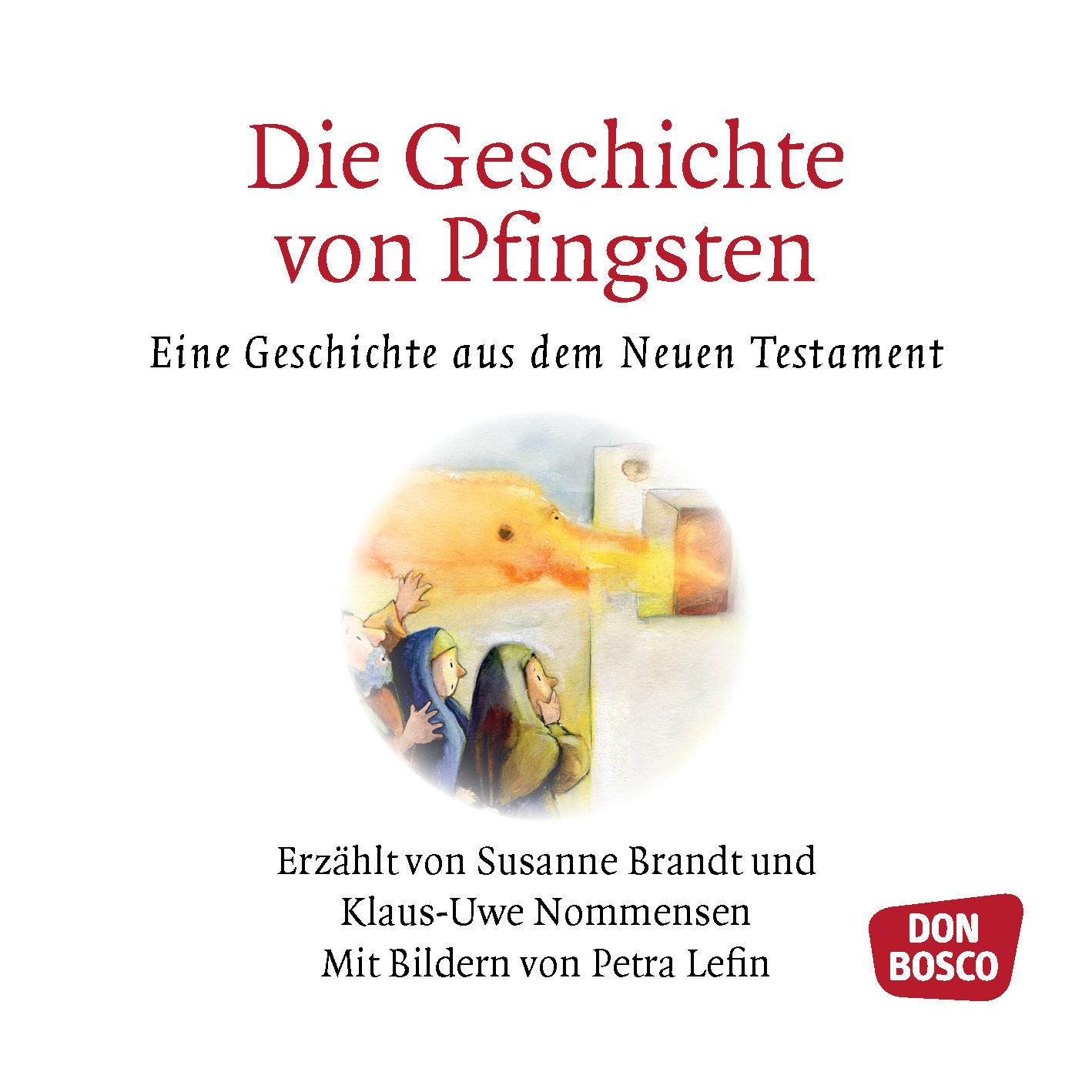 Innenansicht zu Die Geschichte von Pfingsten. Mini-Bilderbuch.