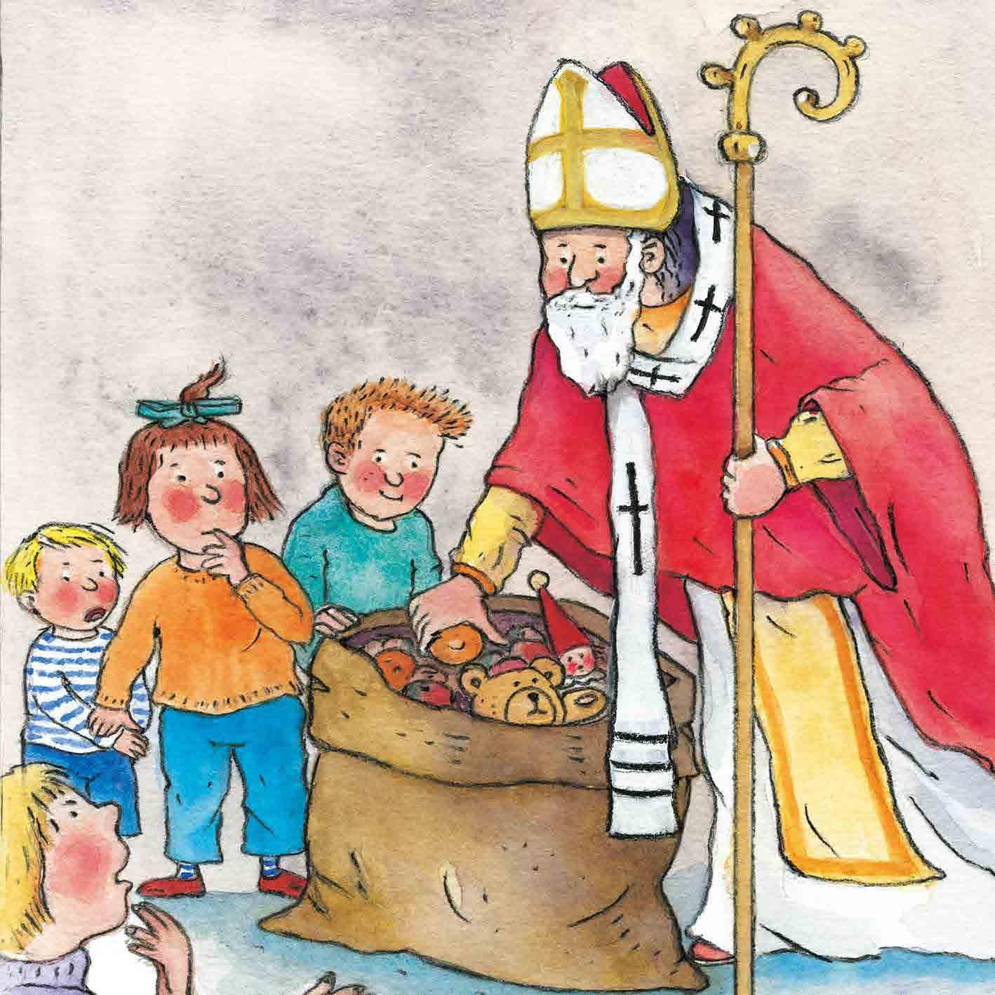 Innenansicht zu Unser Kirchenjahr. Mini-Bilderbuch.