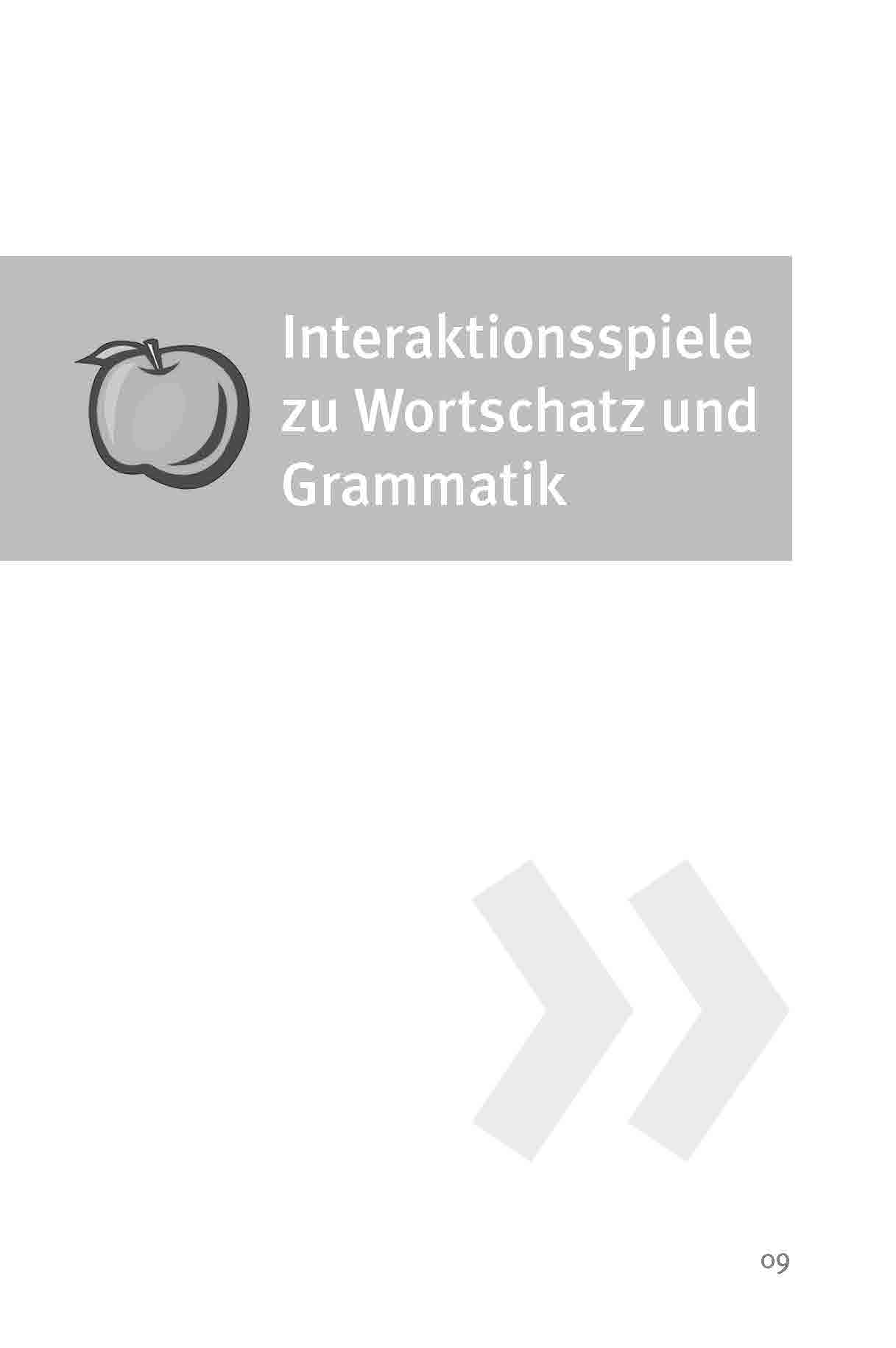 Innenansicht zu Die 50 besten Spiele für Deutsch als Zweitsprache