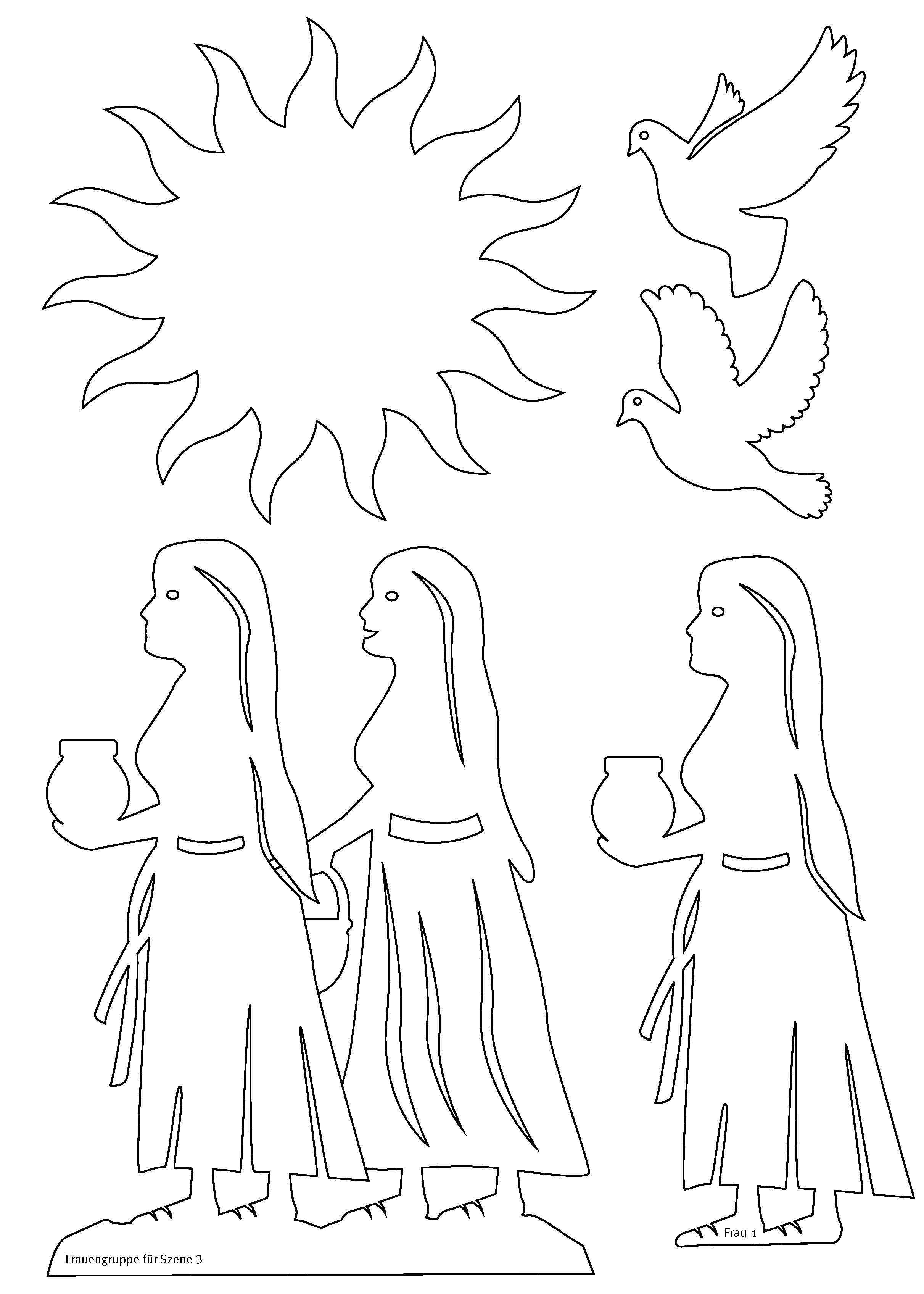Innenansicht zu Die Ostergeschichte
