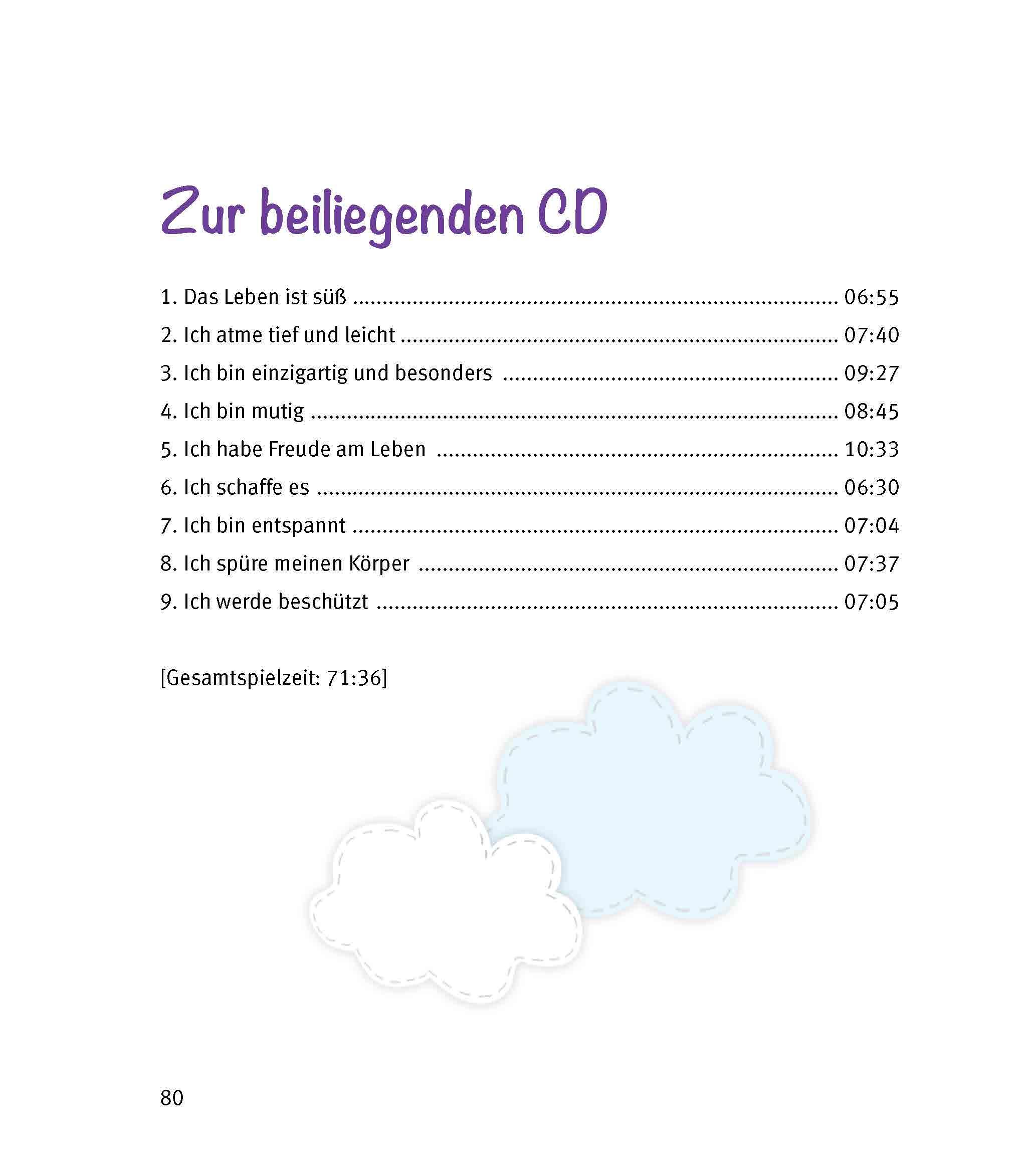 Innenansicht zu Wohlfühlgeschichten, m. Audio-CD