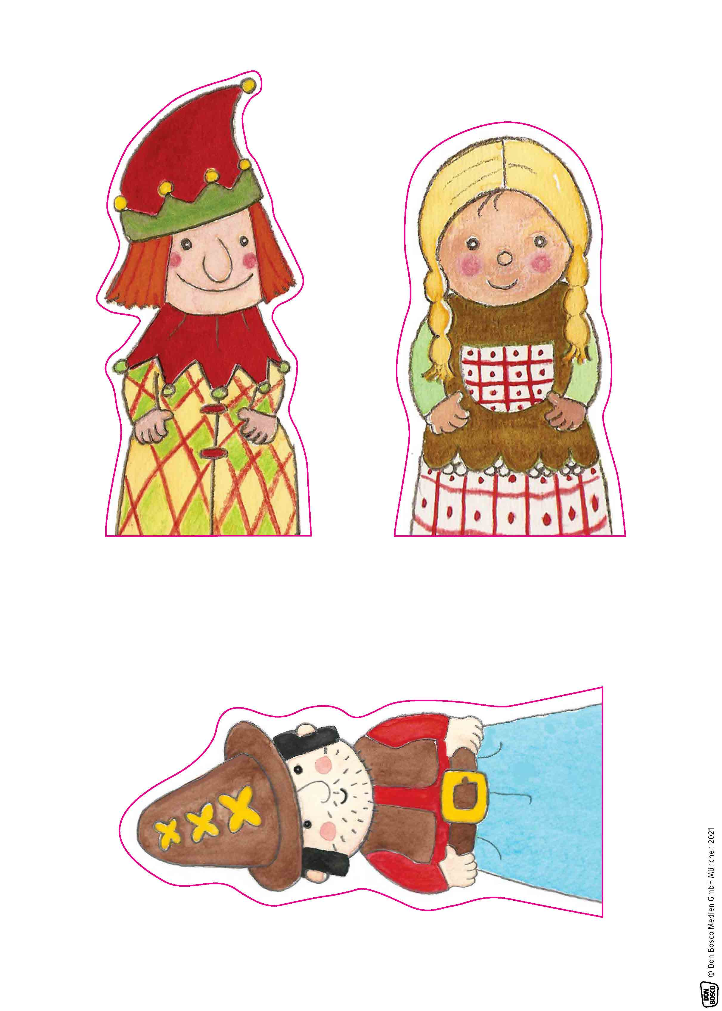 Innenansicht zu Kasper und der verschwundene Nikolaus