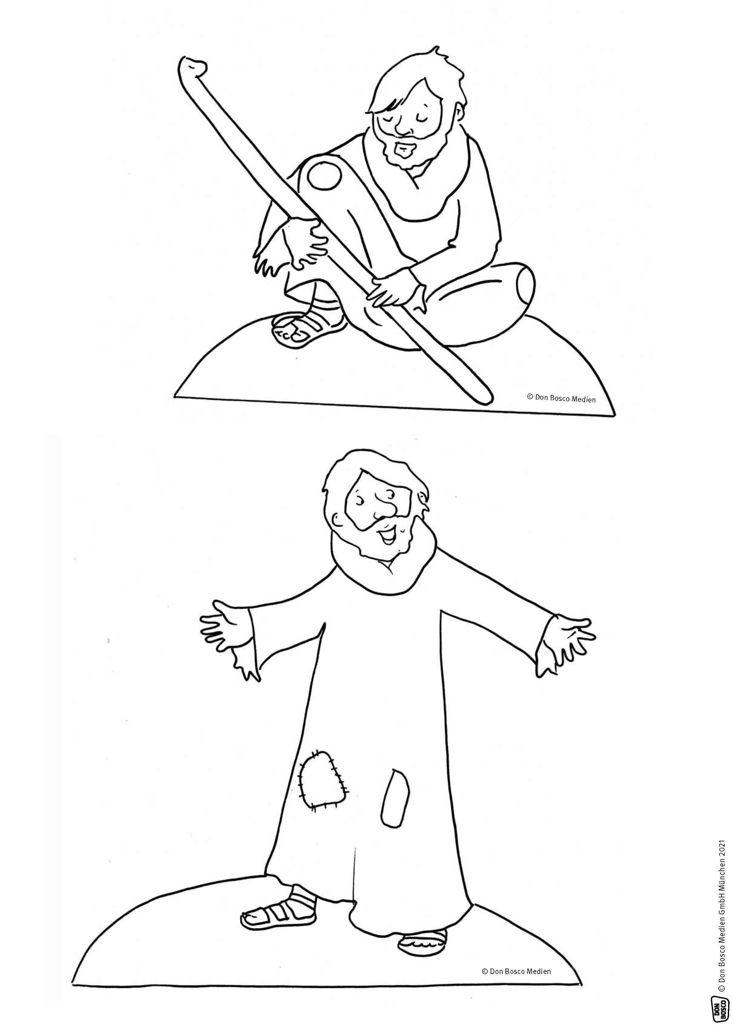 Innenansicht zu Jesus und Bartimäus
