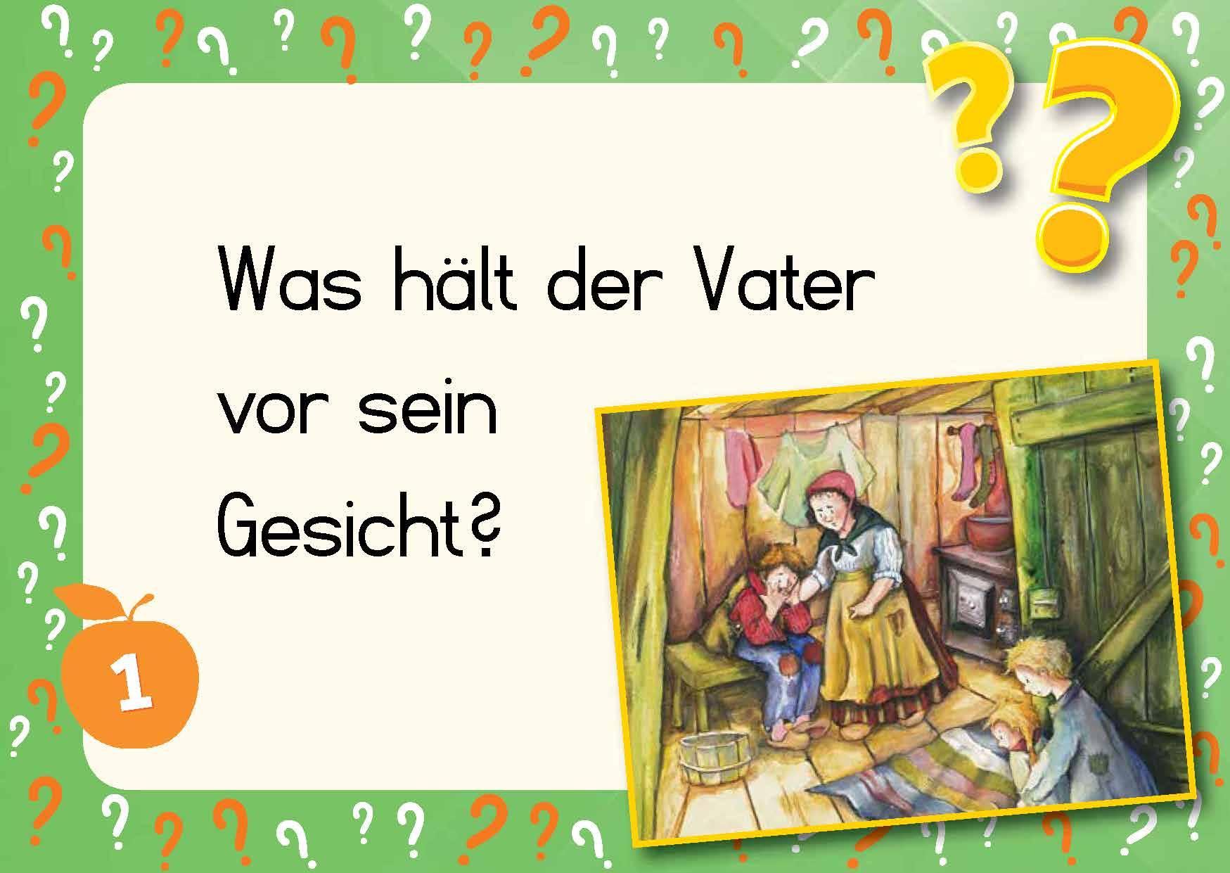 Innenansicht zu Kami-Quiz Märchen: Hänsel und Gretel