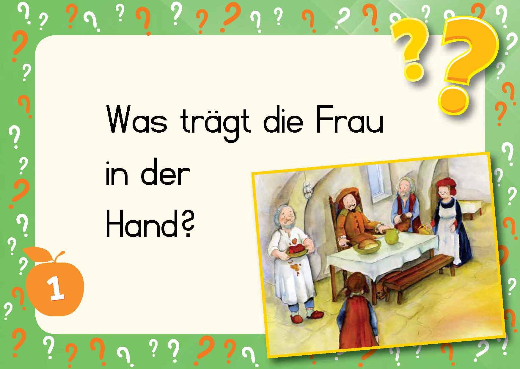 Innenansicht zu Kami-Quiz Märchen: Rumpelstilzchen