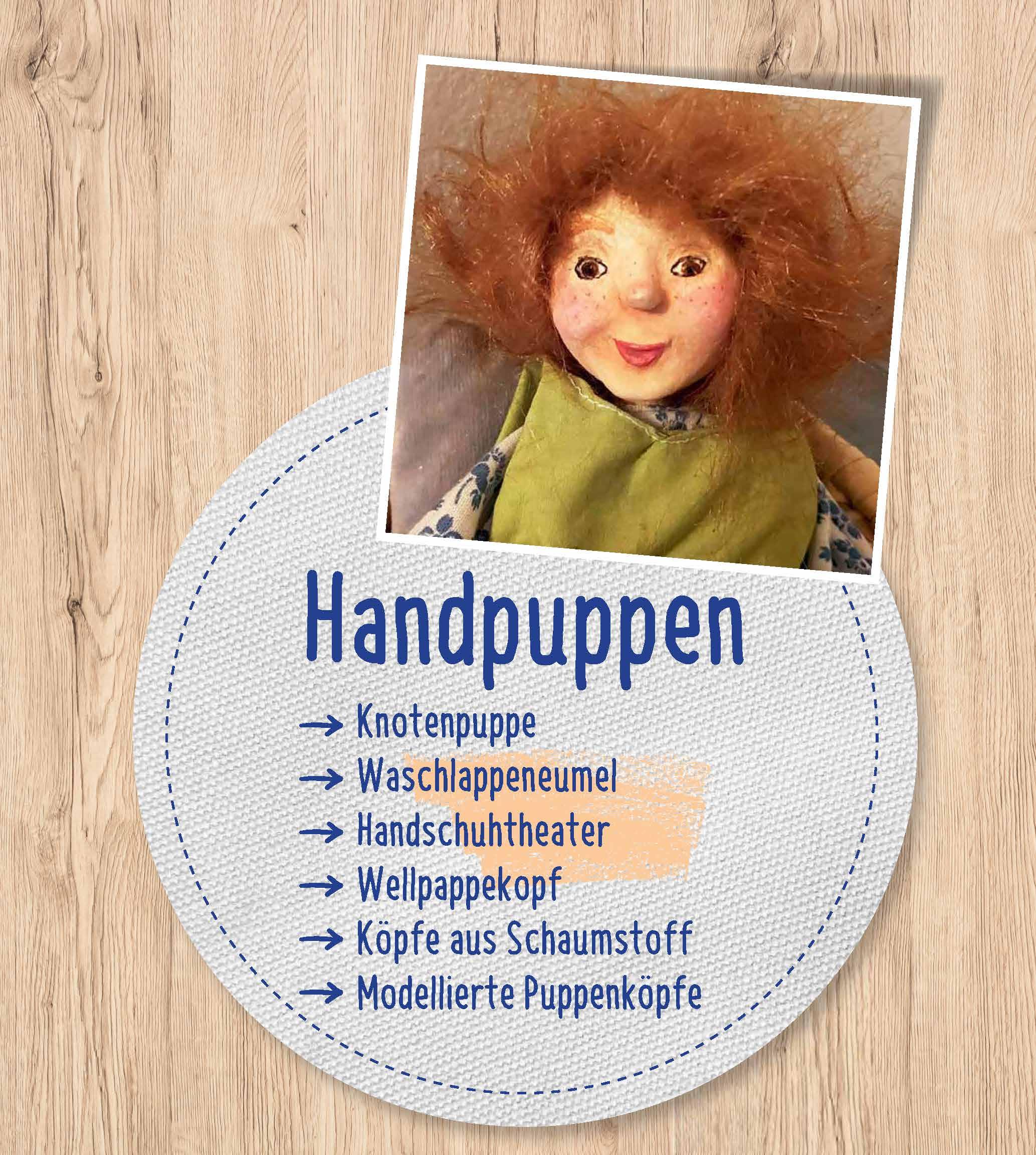 Innenansicht zu Puppentheater mit Kindern