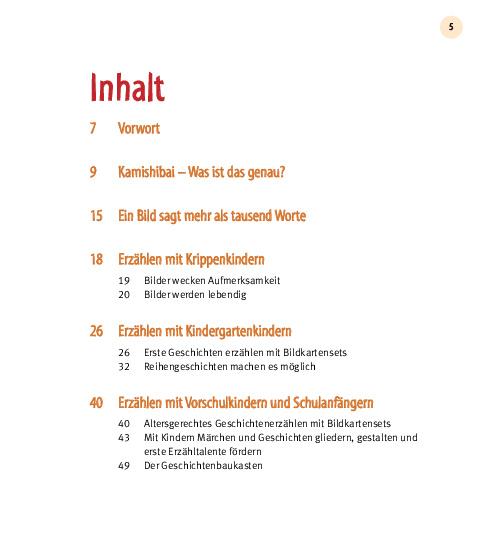 Innenansicht zu Mein Kamishibai - Das Praxisbuch zum Erzähltheater