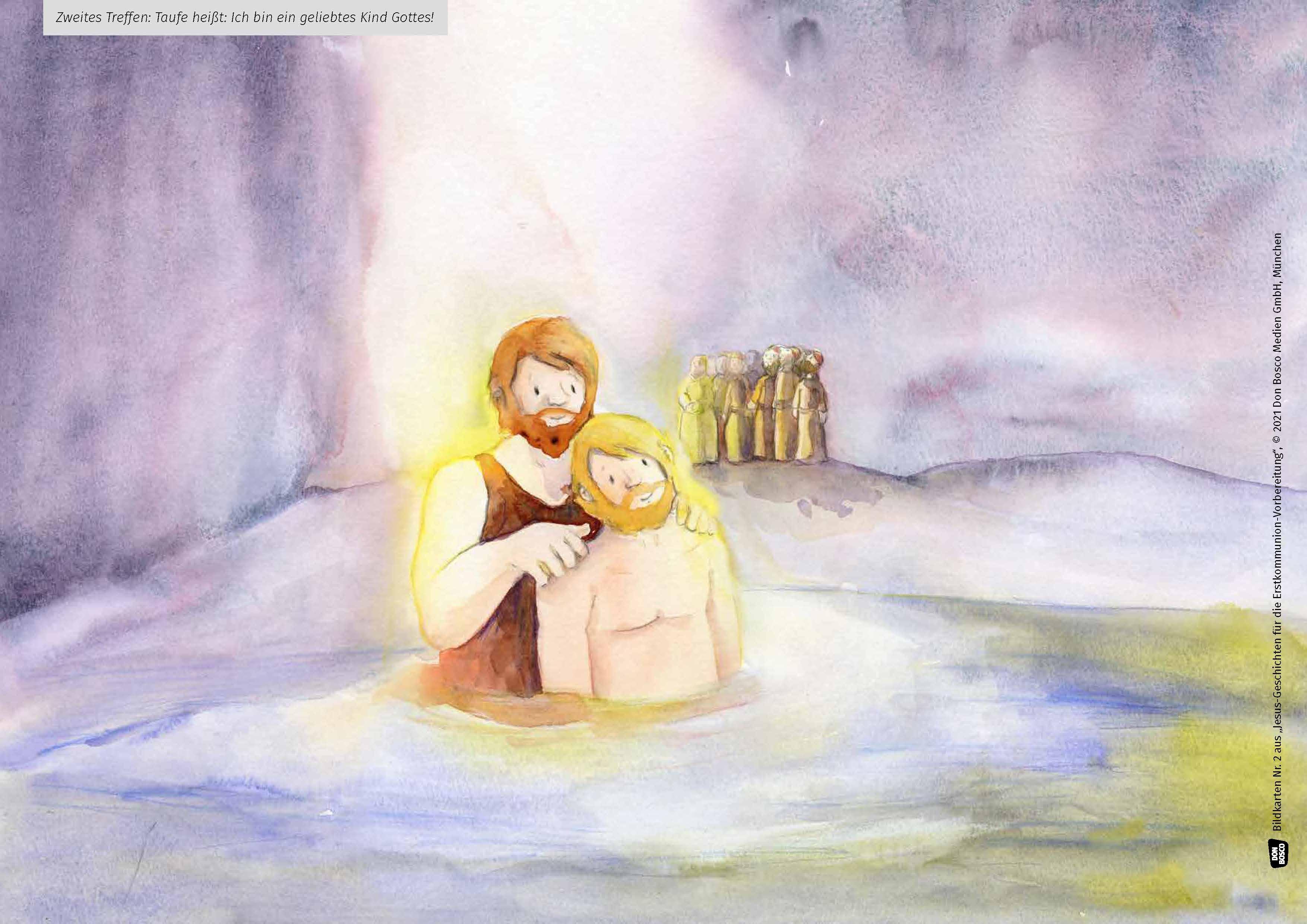Innenansicht zu Jesus hat mich eingeladen. Der Vorbereitungskurs auf Erstbeichte und Erstkommunion