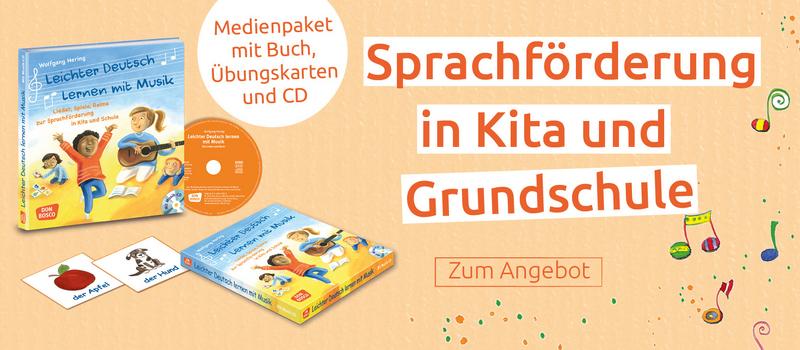 Leichter Deutsch lernen - Zum Medienpaket zur Sprachförderung