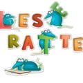 Leseratte Otilie Das ABC-Stickerheft, 4260512180164