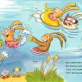 Wenn sieben kleine Badehasen quietschfidel ans Wasser rasen, 9783789121128