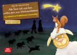 Alle Tiere nah und fern wollen gern zum Weihnachtsstern. Adventskalender.