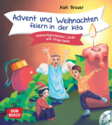 Advent und Weihnachten feiern in der Kita, m. Audio-CD