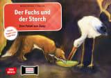 Der Fuchs und der Storch. Eine Fabel von Äsop. Kamishibai Bildkartenset.