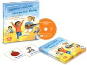 Leichter Deutsch lernen mit Musik, m. Audio-CD und Bildkarten