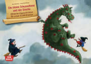 Die kleine Schusselhexe und der Drache. Kamishibai Bildkartenset.