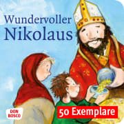 Wundervoller Nikolaus. Die Geschichte vom heiligen Nikolaus. Mini-Bilderbuch. Paket mit 50 Exemplaren zum Vorteilspreis