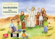 Jesus-Geschichten für die Erstkommunion-Vorbereitung. Kamishibai Bildkartenset