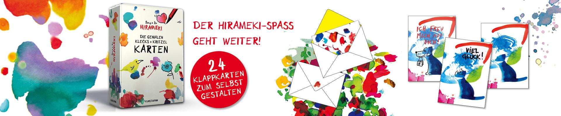 Peng + Hu – Hirameki Klecks+Kritzel-Karten