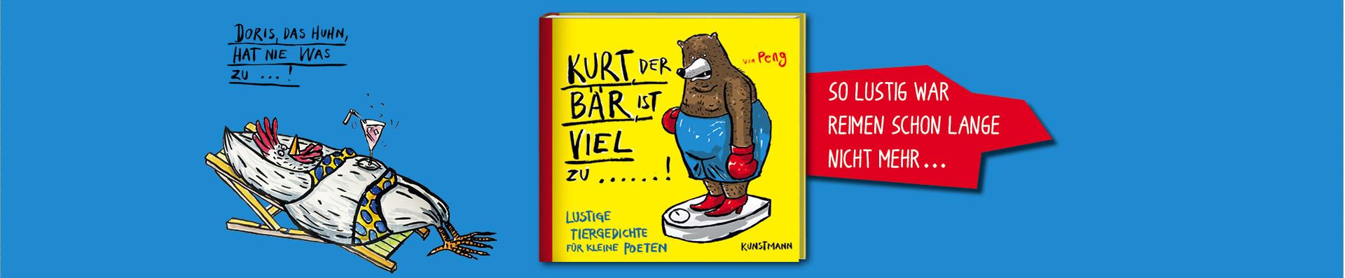 Peng – Kurt, der Bär, ist viel zu ...