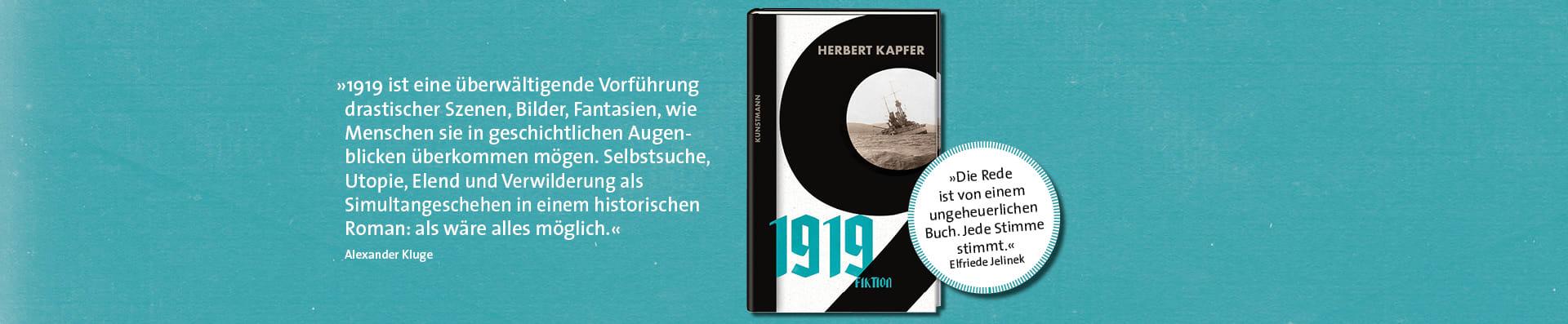 Herbert Kapfer – 1919 Fiktion