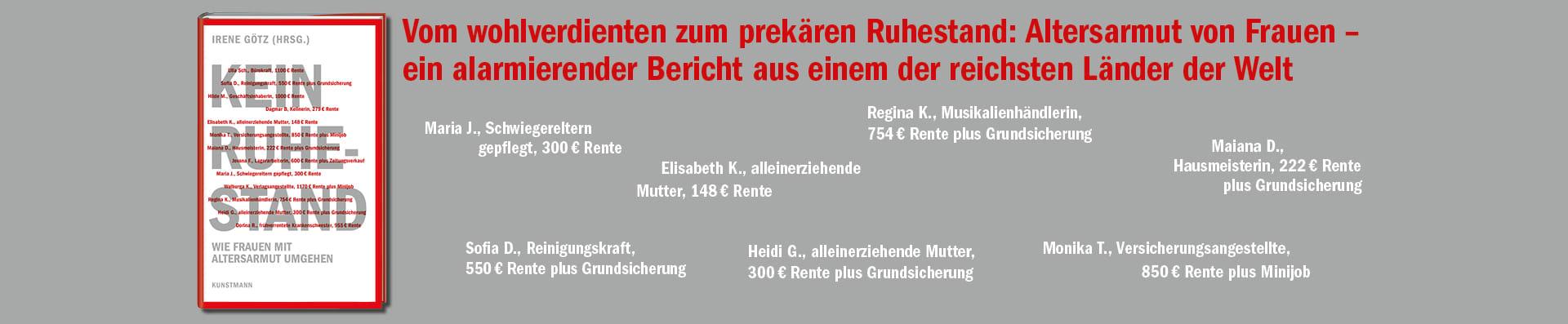 Irene Götz – Kein Ruhestand