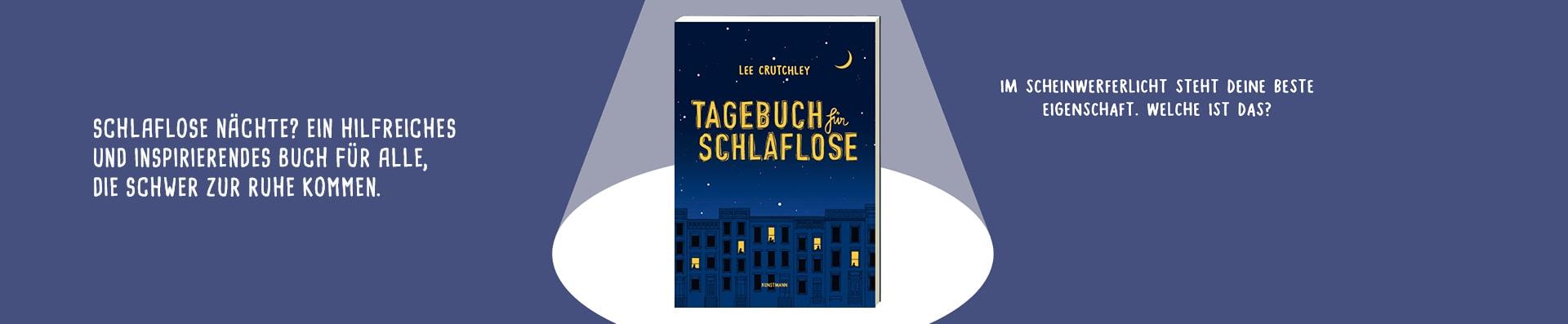 Lee Crutchley – Tagebuch für Schlaflose