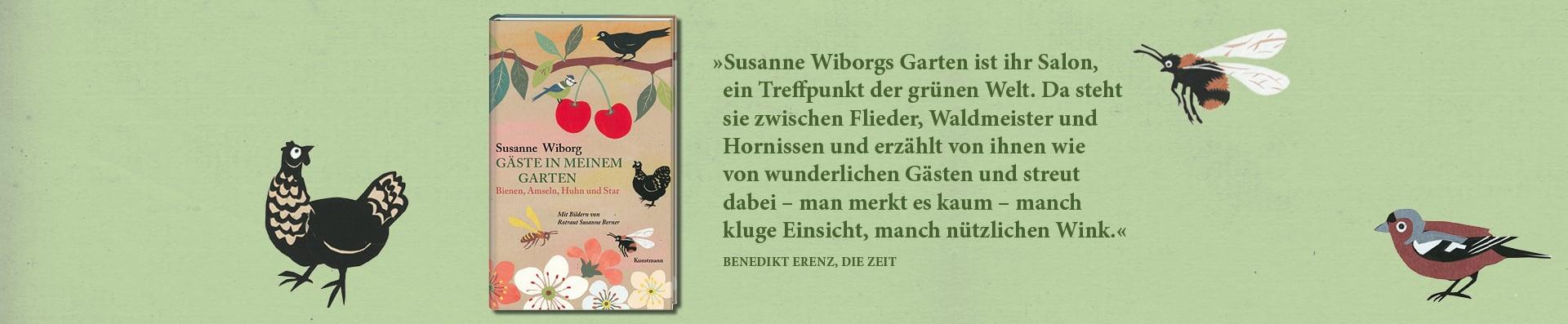 Susanne Wiborg – Gäste in meinem Garten