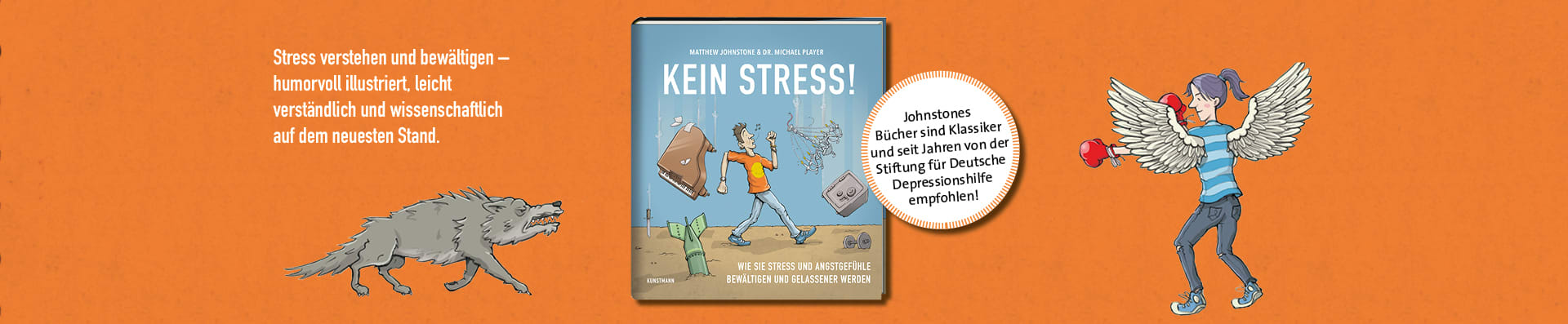 Matthew Johnstone | Michael Player – Kein Stress