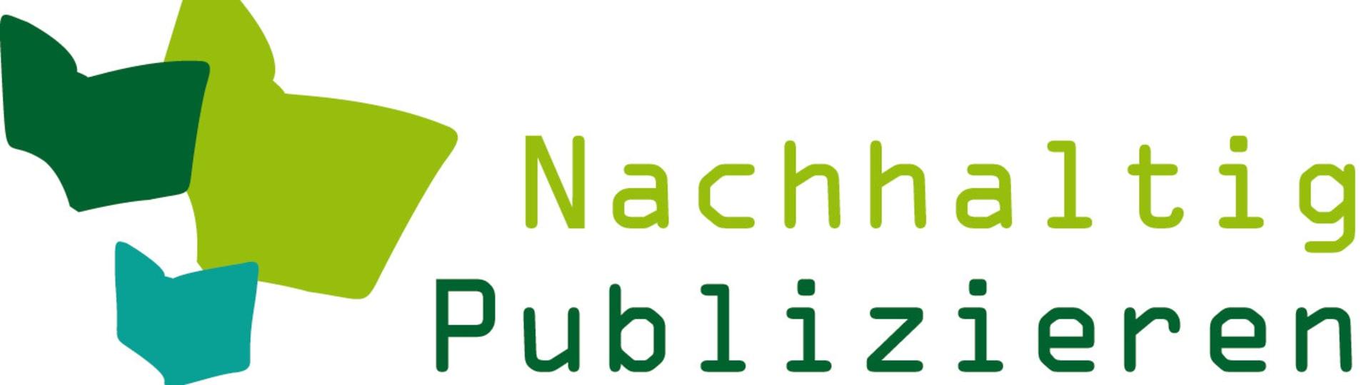 Logo Nachhaltig Publizieren
