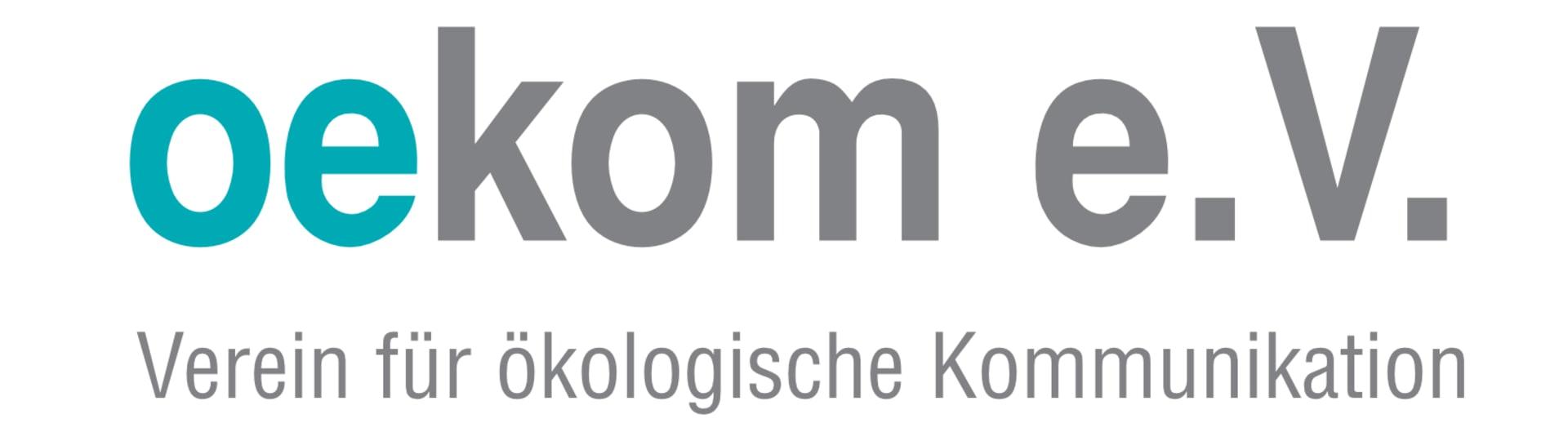 Logo oekom e.V. – Verein für ökologische Kommunikation