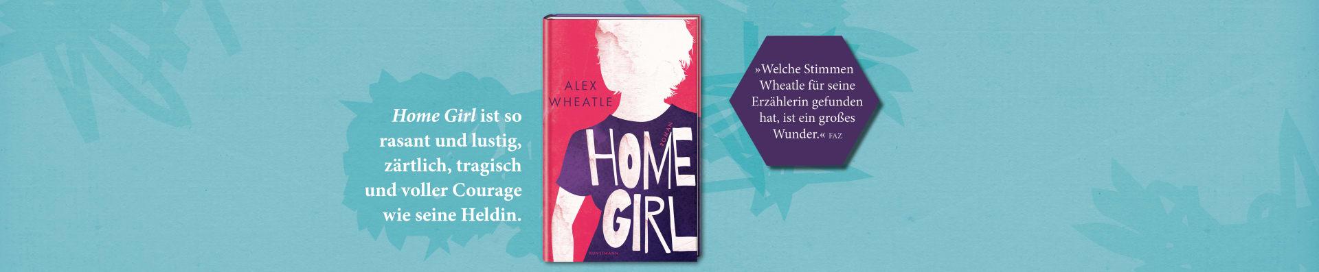 Alex Wheatle – Home Girl