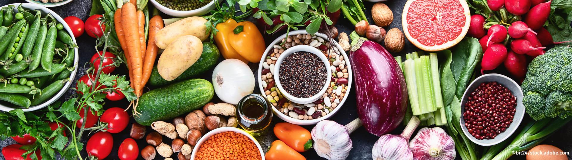 Gesunde, nachhaltige und regionale Lebensmittel