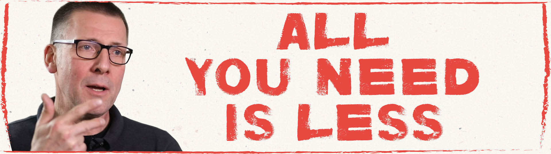 Niko Paechs Buch »All you need is less«