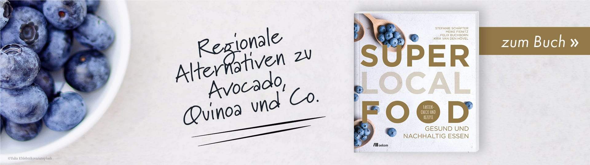 Werbebanner zum Buch »Super Local Food«