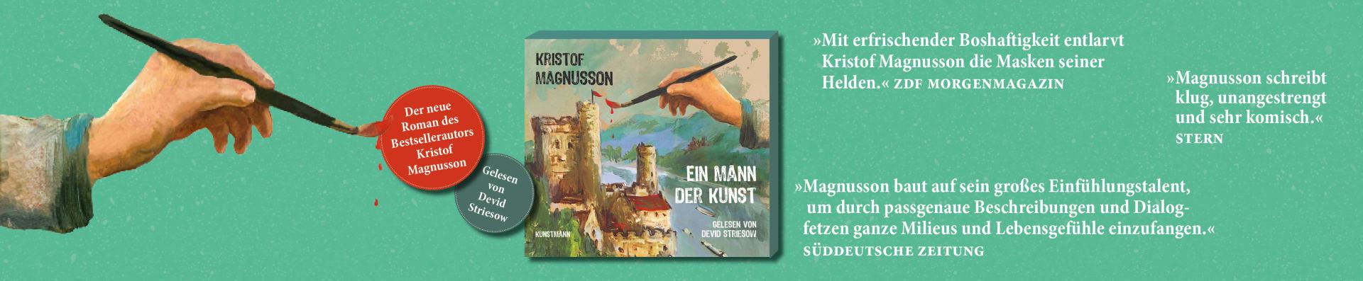 Magnusson – Ein Mann der Kunst Hörbuch