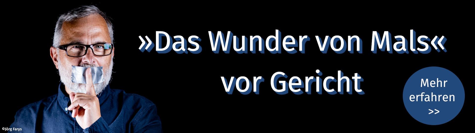 Erfahren Sie alles zum Prozess gegen Alexander Schiebels Buch »Das Wunder von Mals«