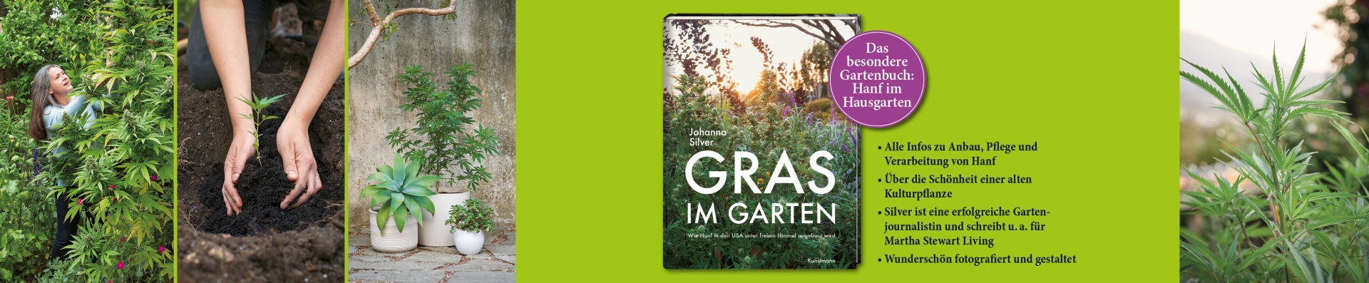 Johanna Silver – Gras im Garten