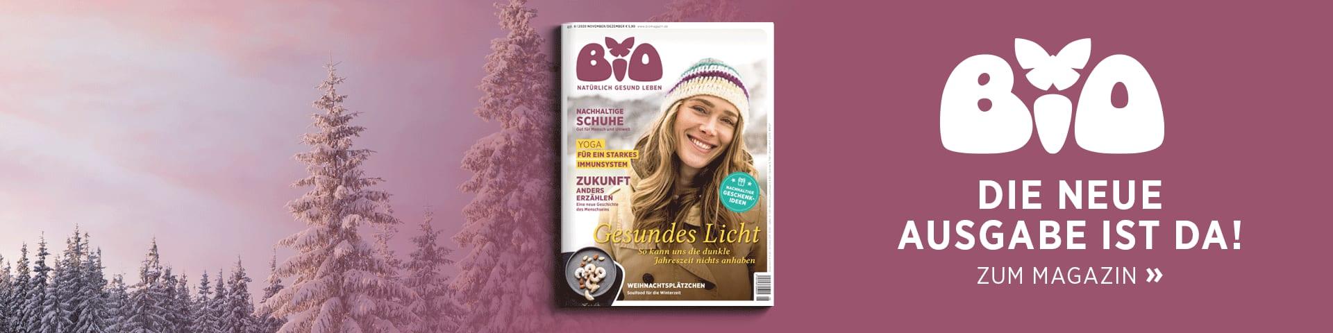 BIO – die neue Ausgabe ist da!