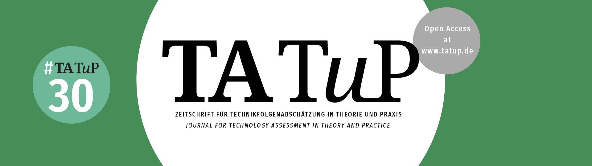 Logo Zeitschrift für Technikfolgenabschätzung in Theorie und Praxis