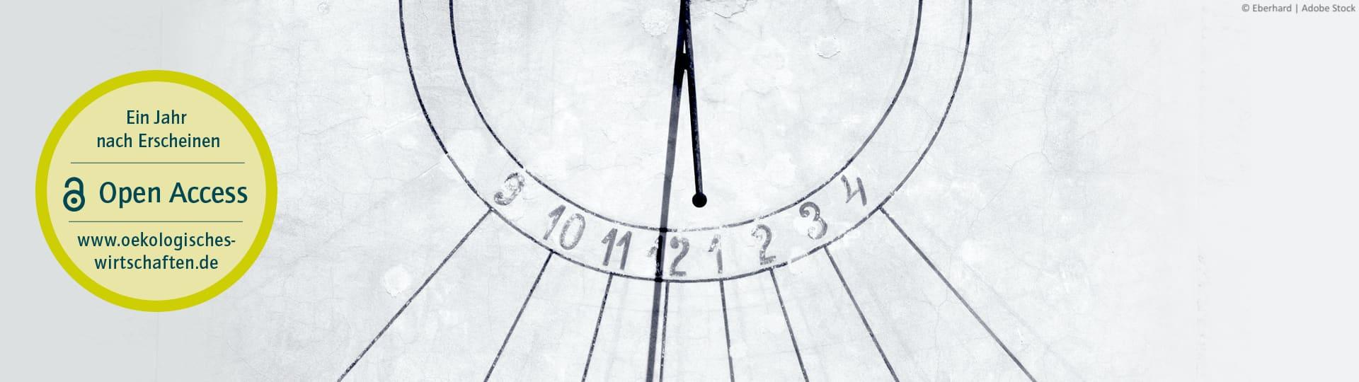 Ein Jahr nach Erscheinen der Ausgabe, können Sie die Artikel kostenfrei auf www.oekologisches-wirtschaften.de lesen.