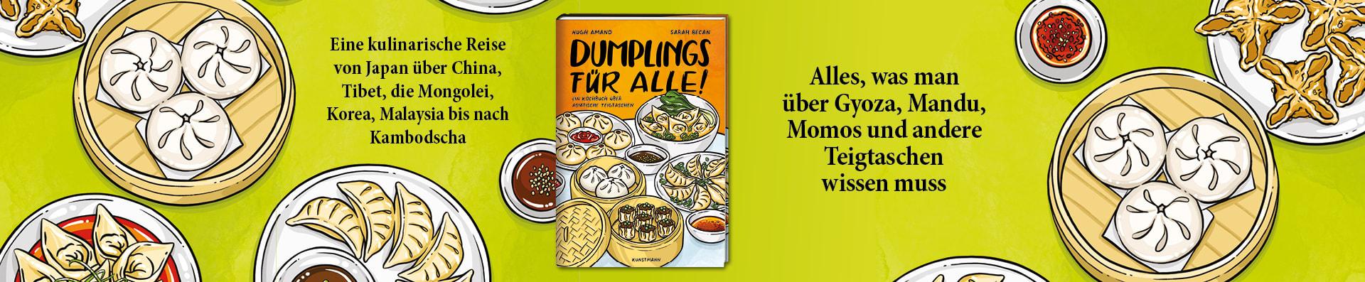 Hugh Amano / Sarah Becan – Dumplings für alle!