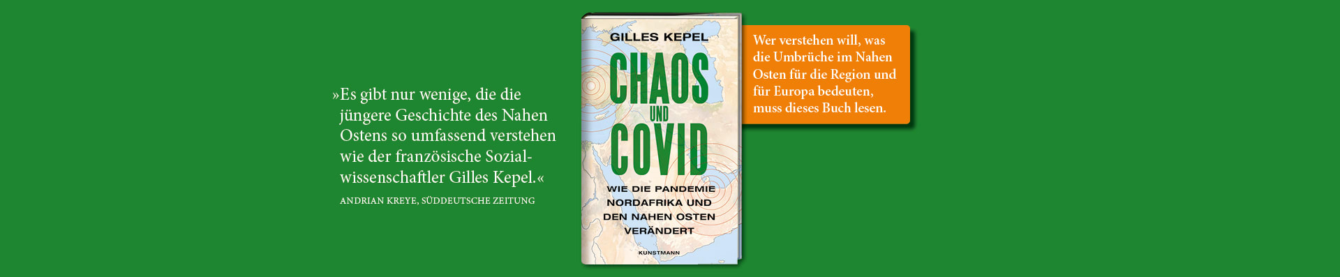 Gilles Kepel – Chaos und Covid