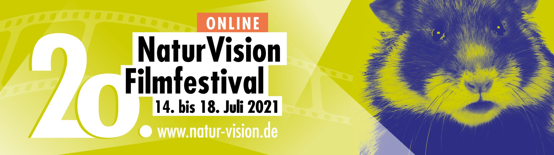 Das Naturvision Filmfestival findet vom 14. bis 18. Juli online auf www.natur-vision.de statt. Klicken Sie hier für weitere Informationen.