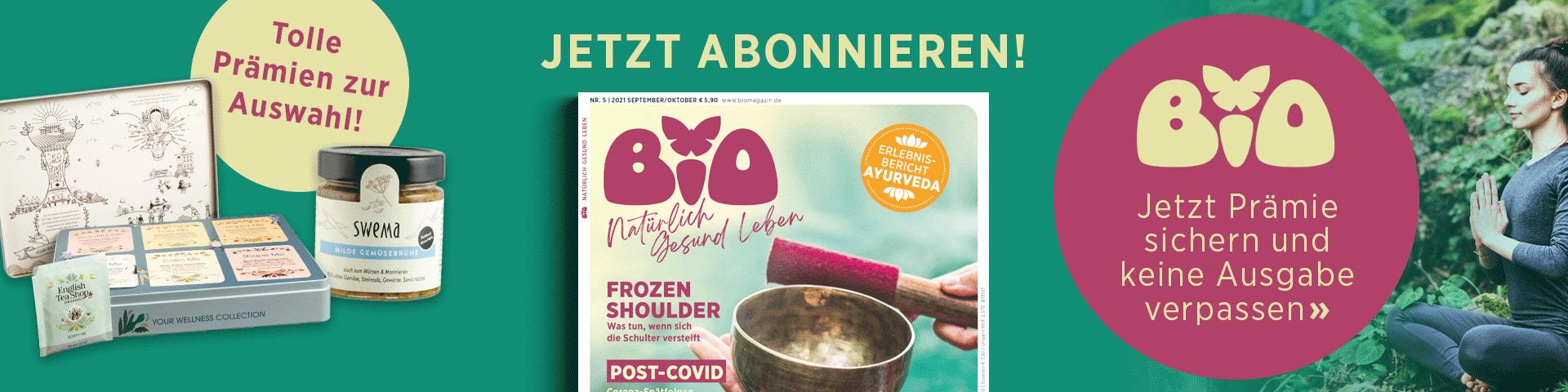 BIO – jetzt Probeabo bestellen!