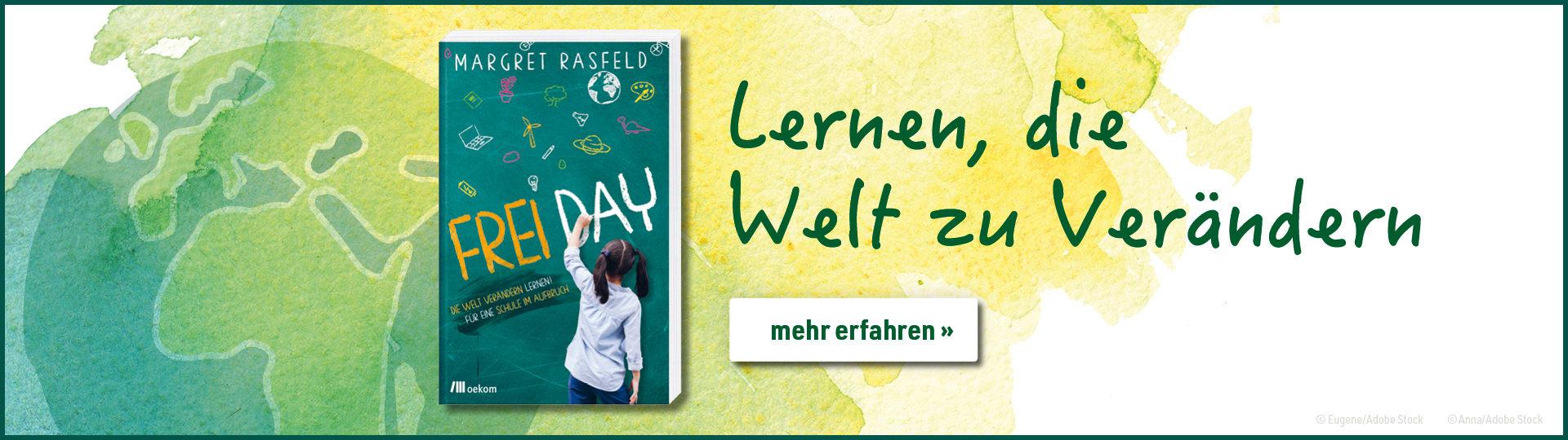 Werbebanner zum Buch »FREI DAY