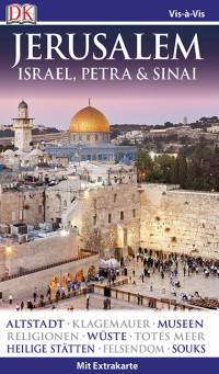 Coverbild Vis-à-Vis Reiseführer Jerusalem. Israel, Petra & Sinai, 9783734201714