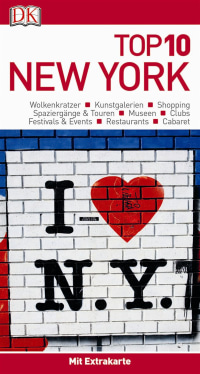 Coverbild Top 10 Reiseführer New York, 9783734205354