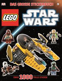 Coverbild LEGO Star Wars Das große Stickerbuch, 9783831018598
