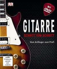 Coverbild Gitarre Schritt für Schritt von Jason Sidwell, Jamie Dickson, 9783831019755